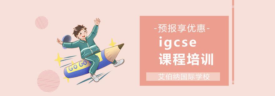 上海igcse培訓哪家好
