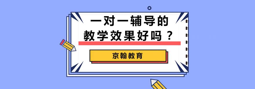 武汉一对一辅导的教学效果好吗-一对一个性化教学