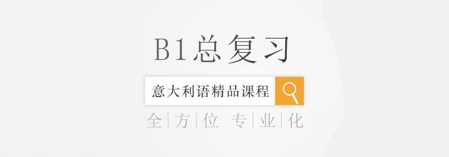 B1总复习课程-重庆意大利语培训哪个好