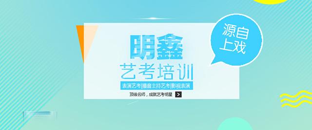 上海明鑫藝考