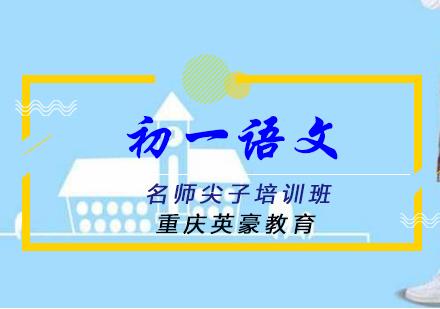 重慶初中輔導培訓-初一語文名師尖子培訓班