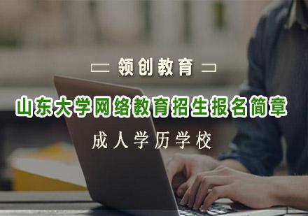 青島網絡學歷培訓-山東大學網絡教育招生報名簡章