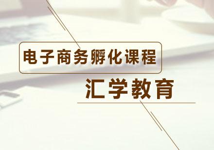 广州网络营销培训-电子商务孵化课程
