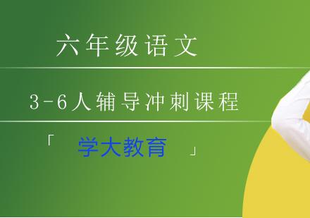 上海小升初培訓-六年級語文3-6人輔導沖刺課程
