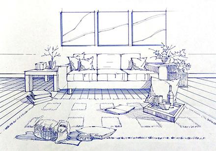室內設計手繪技能訓練[二]