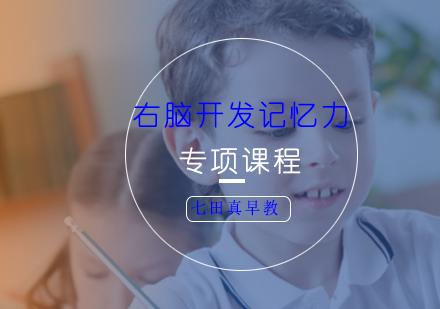 上海早教培訓-右腦開發記憶力專項課程
