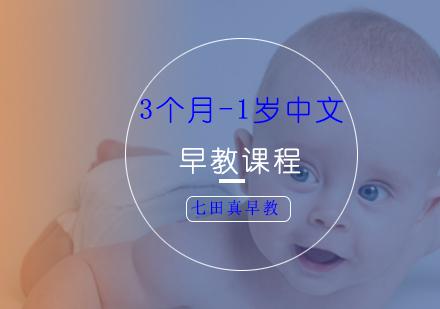 上海早教培訓-3個月-1歲中文早教課程