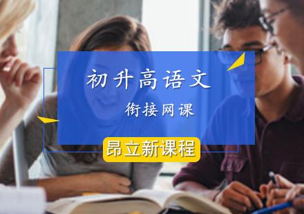 上海中考培訓-初升高銜接語文網課