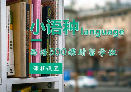 西安西班牙留學培訓-西班牙語500課時留學班