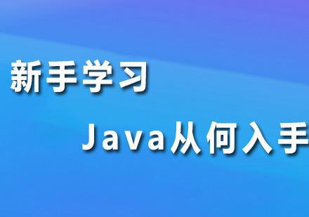 新手学习Java从何入手