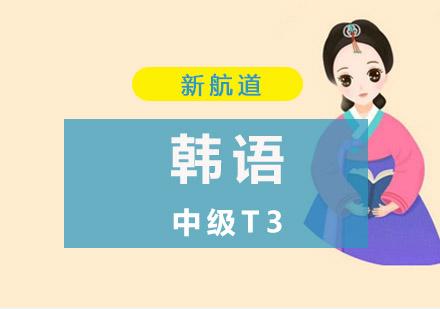 韓語中級T3培訓