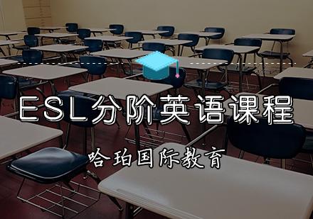 天津國際課程培訓-ESL分階英語課程