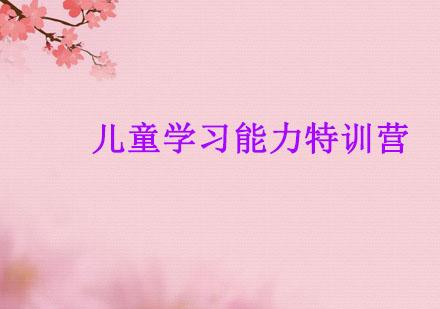 广州注意力培训-儿童学习能力特训营
