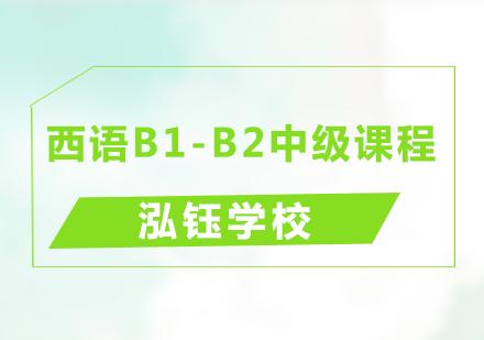 青島西班牙語培訓-西語B1-B2中級課程
