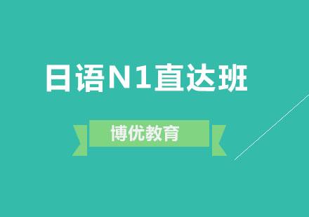 廣州日語培訓-日語N1直達班