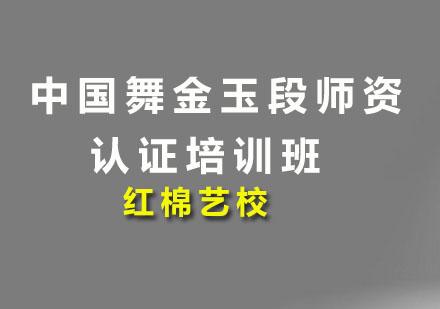 广州舞蹈培训-中国舞金玉段师资认证培训班