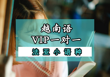 越南語VIP一對一培訓課程
