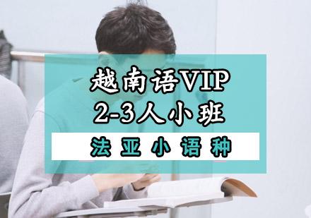 越南語VIP一對多培訓班