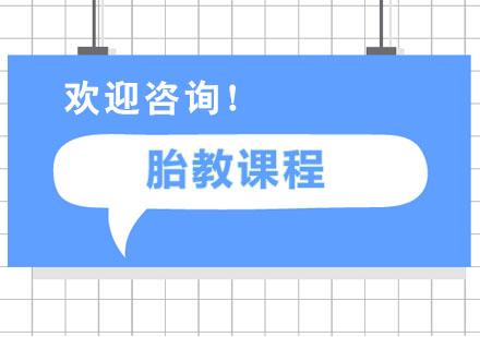 广州早教培训-胎教课程