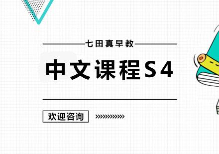 广州幼儿辅导培训-中文课程S4