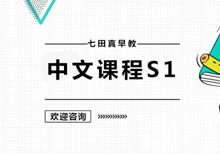 广州幼儿辅导培训-中文课程S1