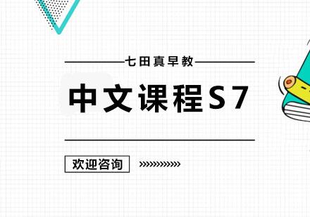 广州幼儿辅导培训-中文课程S7