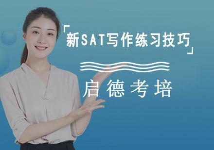 新SAT寫作練習技巧