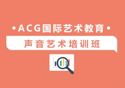 上海聲樂藝術培訓-聲音藝術培訓班