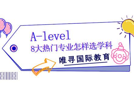 A-level8大熱門專業怎樣選學科