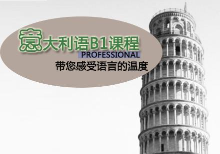 天津意大利語培訓-意大利語B1課程