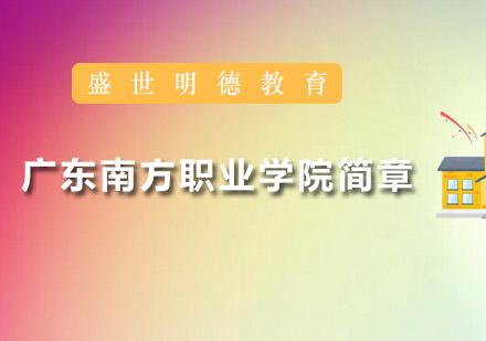 广州学历提升培训-广东南方职业学院简章