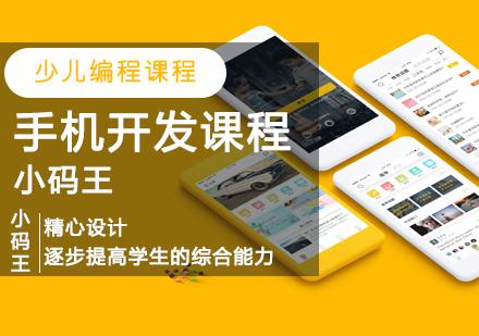 青島少兒編程培訓-手機開發課程