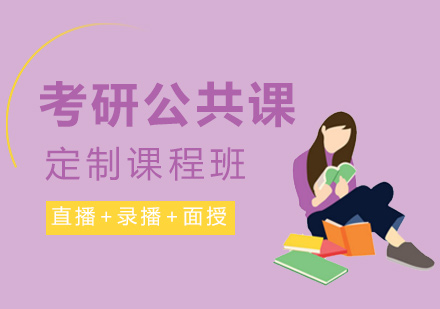 考研公共課定制課程班