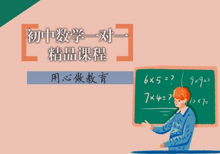 天津初中輔導培訓-初中數學一對一精品課程