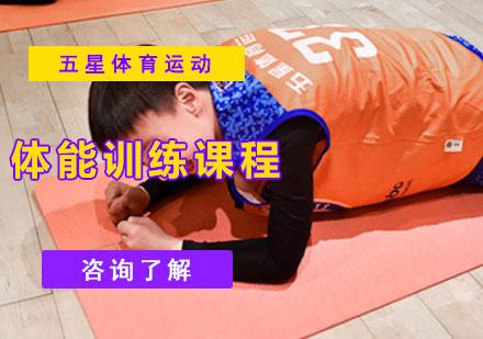 體能訓練課程