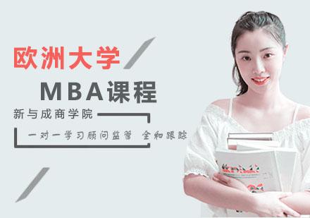 歐洲大學MBA課程