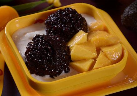 广州西点饮品培训-芒果白雪黑糯米培训课程