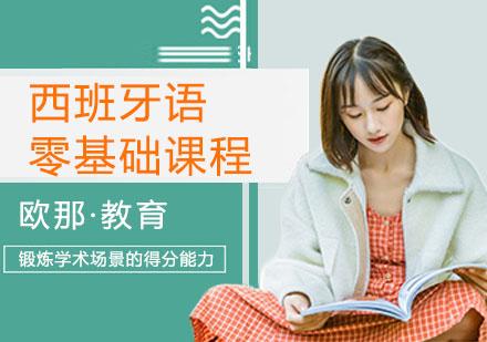 上海西班牙語培訓-西班牙語零基礎課程