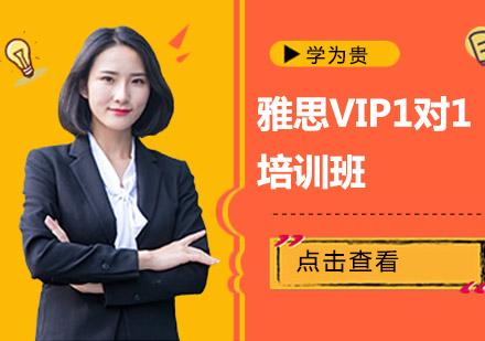 雅思VIP1對1培訓班