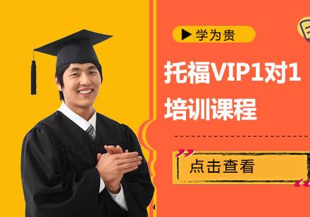 托福VIP1對1培訓課程