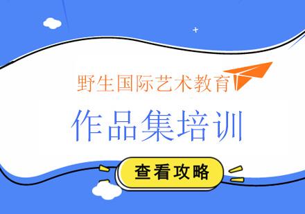 北京作品集制作培訓,審美決定作品集高度!