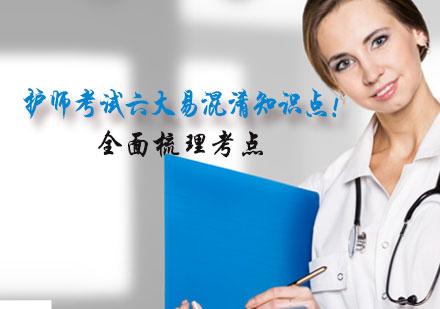 護師考試六大易混淆知識點!?