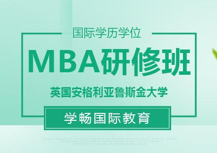 英国安格利亚鲁斯金大学MBA研修班
