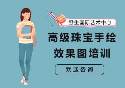 上海作品集培訓-高級珠寶手繪效果圖培訓