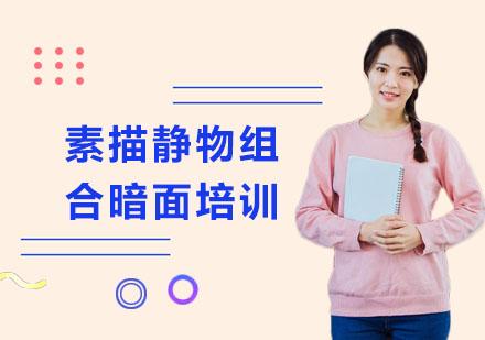 上海藝考培訓-素描靜物組合暗面培訓