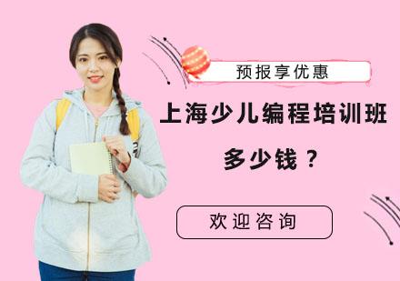 上海少兒編程培訓班多少錢?