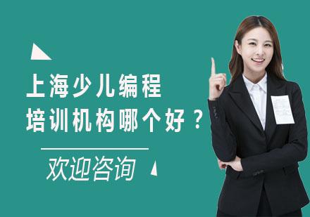 上海少兒編程培訓機構哪個好?