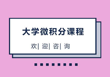 北京國際擇校培訓-北京大學微積分課程