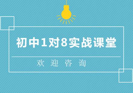 北京中小學輔導培訓-北京初中1對8實戰課堂
