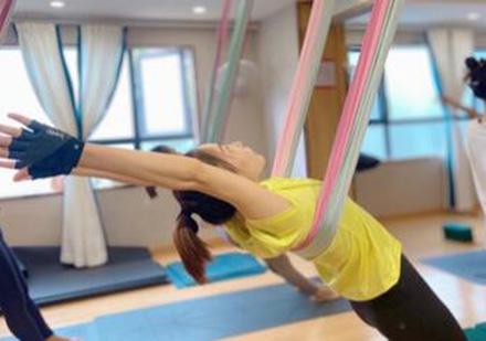 空中瑜伽一二級精品課程培訓班